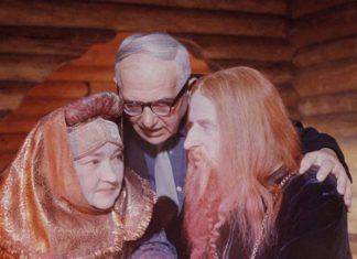 1967. На съемках фильма «Сказка о царе Салтане»