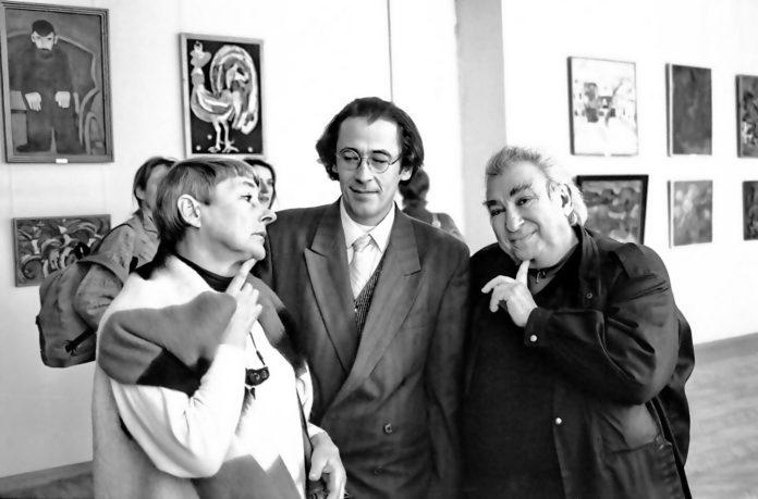 Наталья Свищева с Иваном Верховых и Львом Гореликом